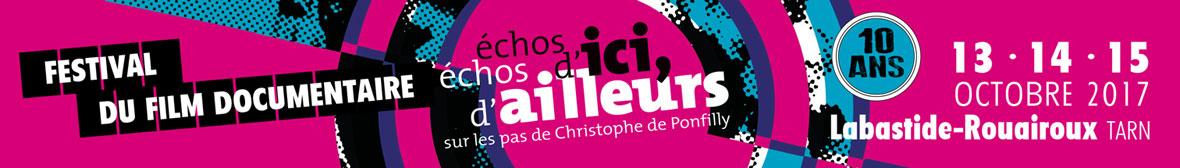 Festival du film documentaire Echos d'ici Echos d'ailleurs.