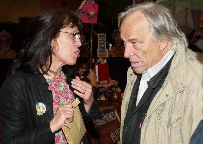 Marie Bernar et Daniel Mermet, Festival 2012 © Raymond Alègre