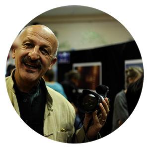 Reza Deghati photographe et reporter, parrain du festival du film documentaire Echos d'ici echos d'ailleurs 2017