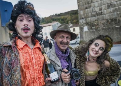 Antoine Johannin, comédien - Réza, photographe - Maëlle Mays, comédienne