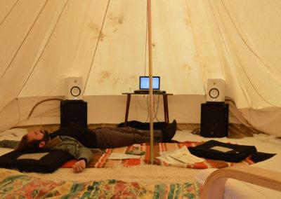 La tente à Klak, expérience sonore