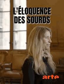affiche du film documentaire L'éloquence des sourds de Laetitia Moreau