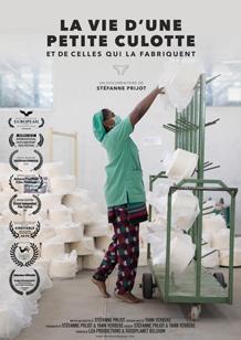 affiche du film la vie d'une petite culotte de Stéfanne Prijot