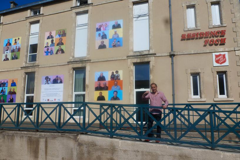 """Résidence photographique """"En Face"""" avec les résidents de Foch à Mazamet et le photographe Philippe Assalit"""