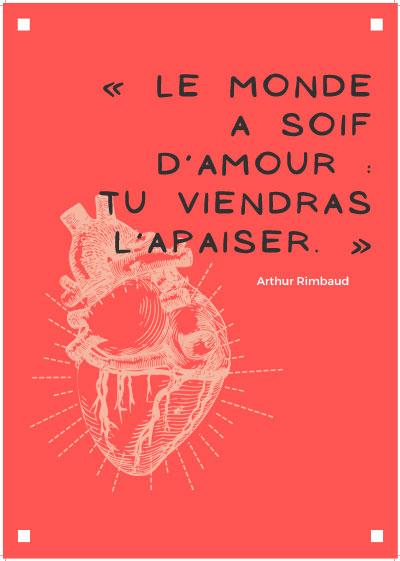 Poésie en roue libre - Rimbaud