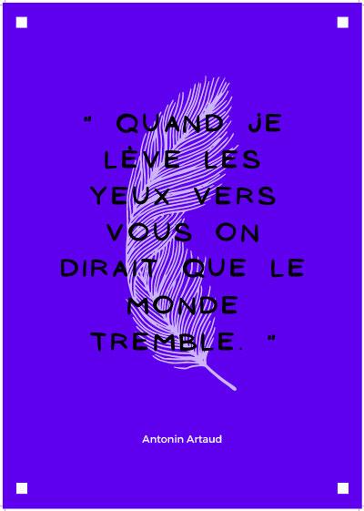 Poésie en roue libre - Artaud