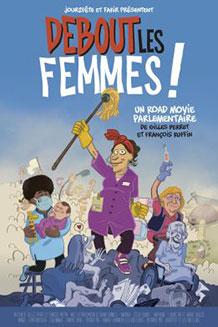Affiche du film documentaire Debout les femmes