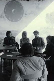 Affiche du film documentaire A pas lentes du Collectif Cinéluttes