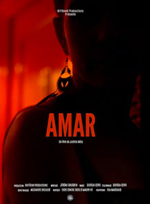Affiche du film documentaire Amar de la réalisatrice Justine Mery