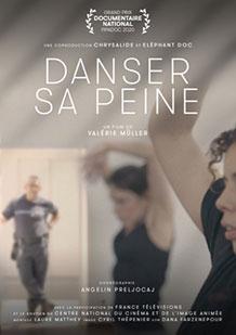 Affiche du film documentaire Danser sa peine de la réalisatrice Valérie Muller