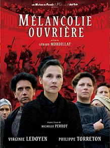 Affiche du film Mélancholie ouvrière du réalisateur Gérard Mordillat