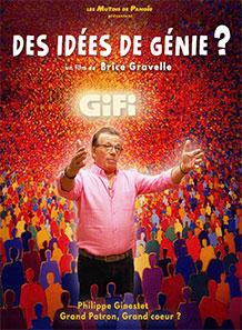 Affiche du film documentaire Des idées de génie de Brice Gravelle
