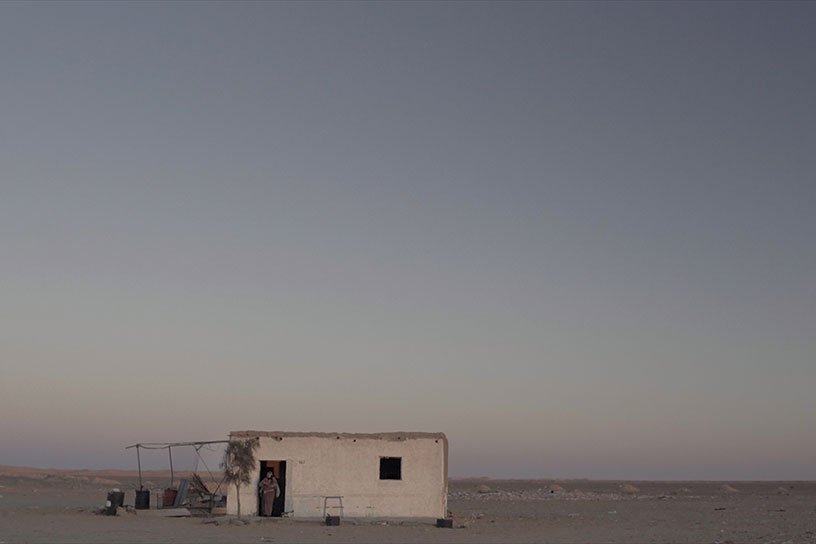 Image du film documentaire 143 rue du désert du réalisateur Hessen Ferhani